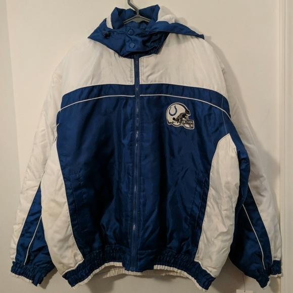 online store 26f7e 7c5b1 New Indianapolis Colts NFL Coat Size XL NWT